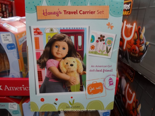 American Girl Travel Carrier Set Costco 3