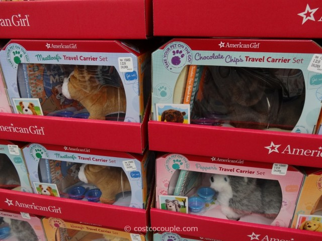 American Girl Travel Carrier Set Costco 4