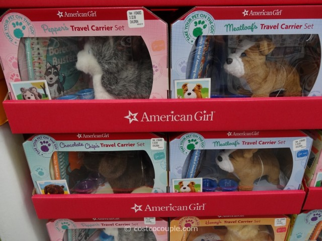 American Girl Pet Travel Carrier Set