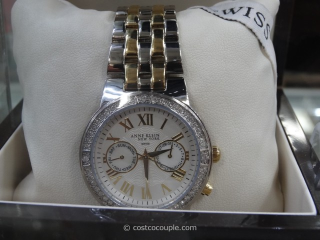 Anne Klein Ladies Two Toned Chronograph Watch Costco 1