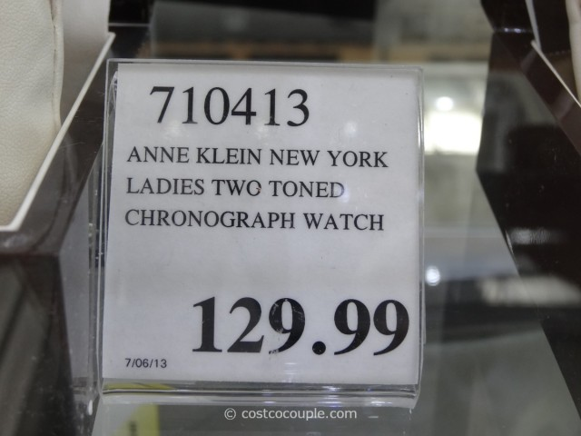 Anne Klein Ladies Two Toned Chronograph Watch Costco 2
