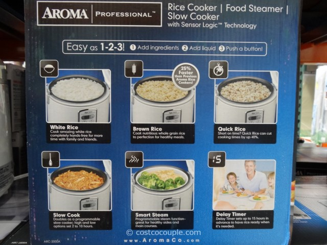 Aroma rice cooker rice to water ratio