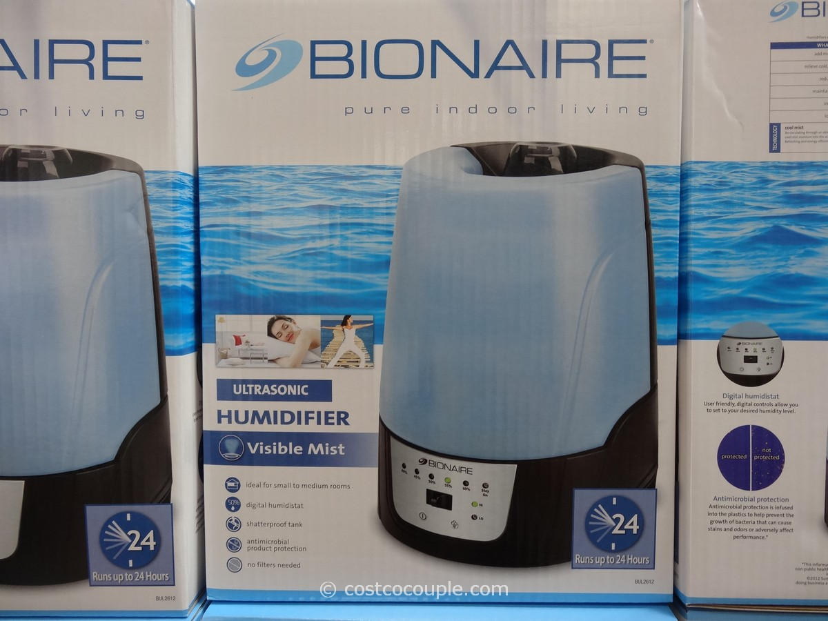 Bionaire Ultrasonic Humidifier Costco 1