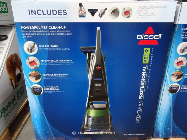 Bissell Deep Clean Professional Pet Carpet Cleaner Costco 3