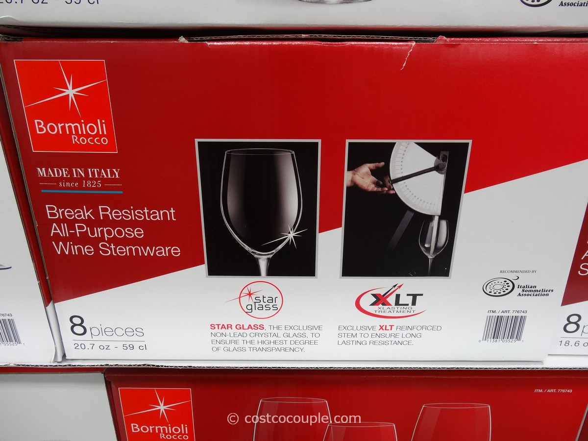 Bormioli Rocco All-Purpose Wine Stemware Set Costco 2