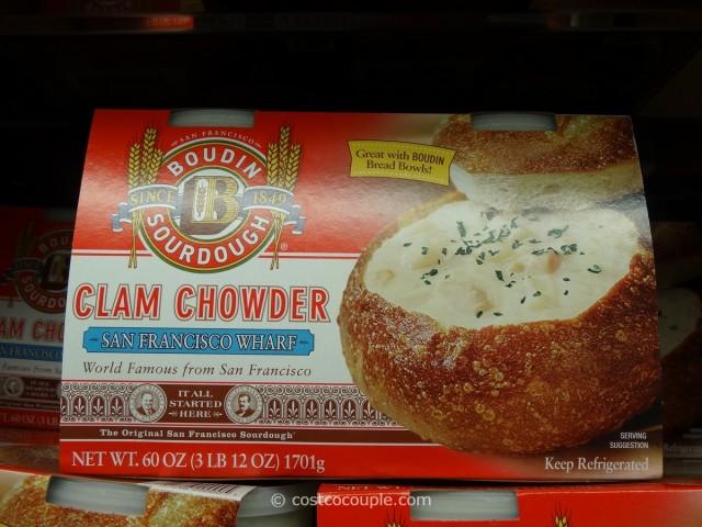 Boudin Clam Chowder Costco 1