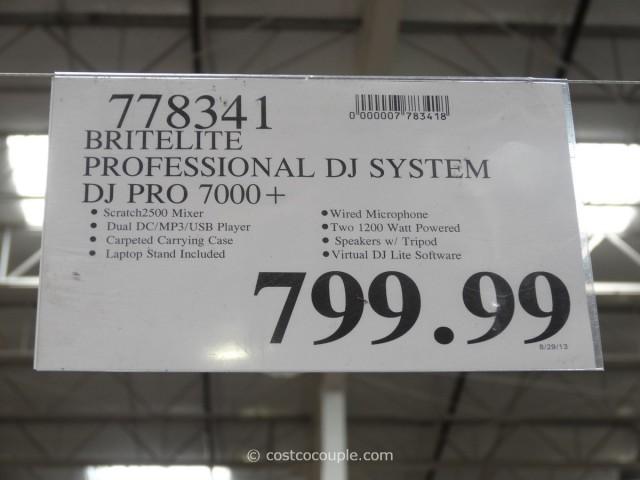 Britelite  Professional DJ System Costco7