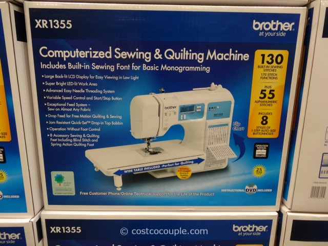 Brother XR1355 Computerized Sewing Machine Costco 2