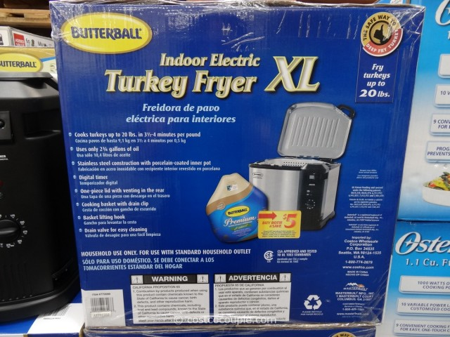 Butterball Indoor Electric Turkey Fryer Costco 3