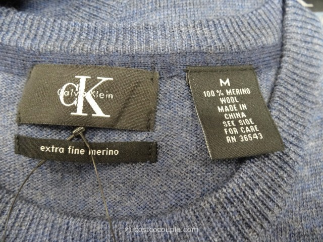 Calvin Klein Mens Merino Wool Sweater Costco 2