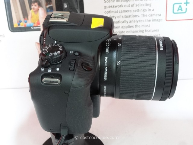 Canon EOS Rebel SL1 DSLR Kit Costco 1