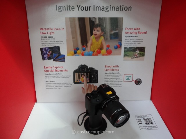 Canon EOS Rebel SL1 DSLR Kit Costco 2