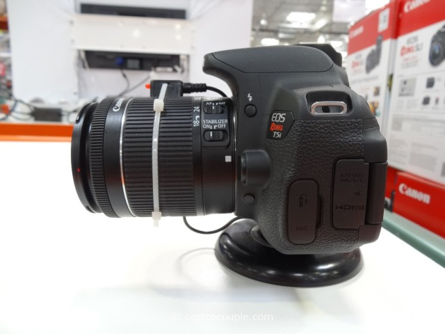 Canon Rebel T5i DSLR Kit Costco 1
