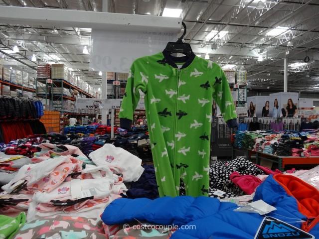 Carters Blanket Sleeper Set Costco 1