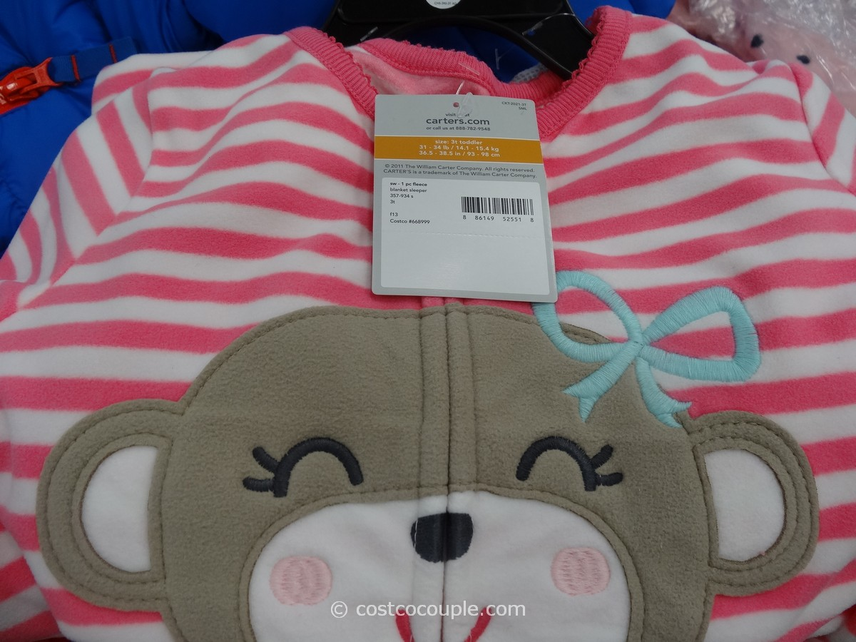 Carters Blanket Sleeper Set Costco 4