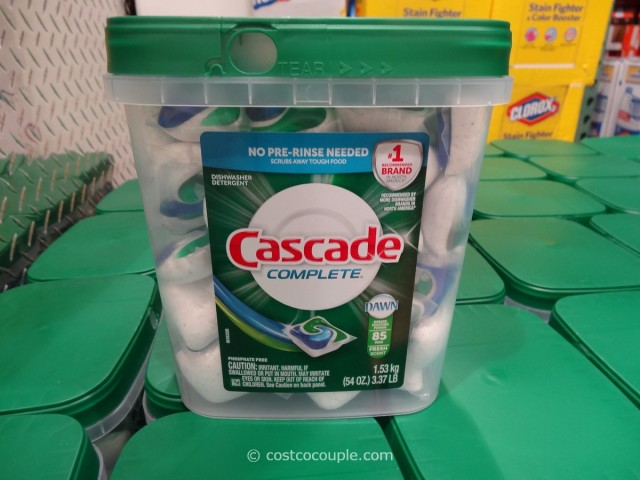 Cascade Complete Dishwasher Detergent Pacs Costco 1