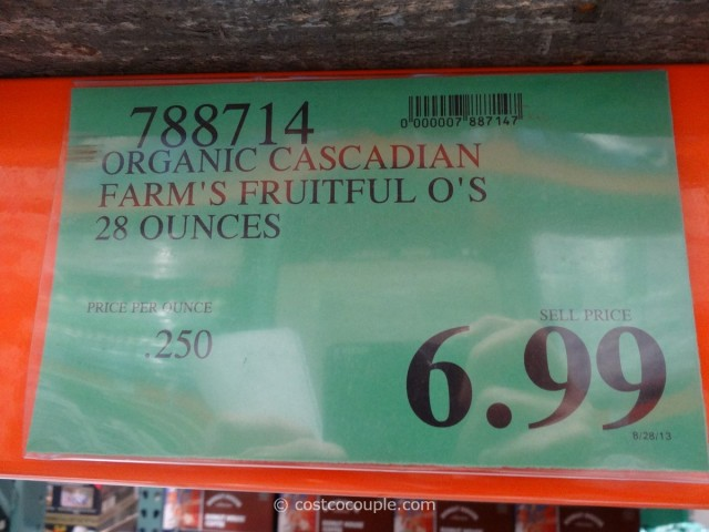Cascadian Farms Organic Fruitful Os Costco 1