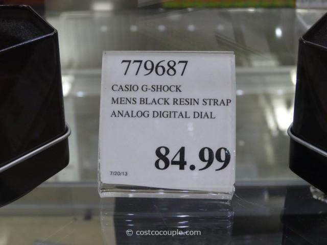 Casio G-Shock Black Resin Costco 2
