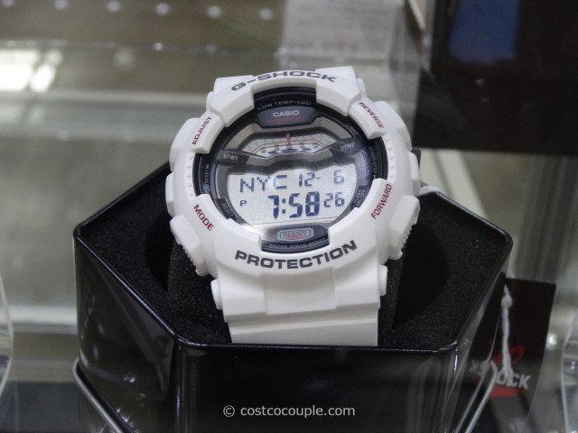 Casio G-Shock White Resin Costco 1