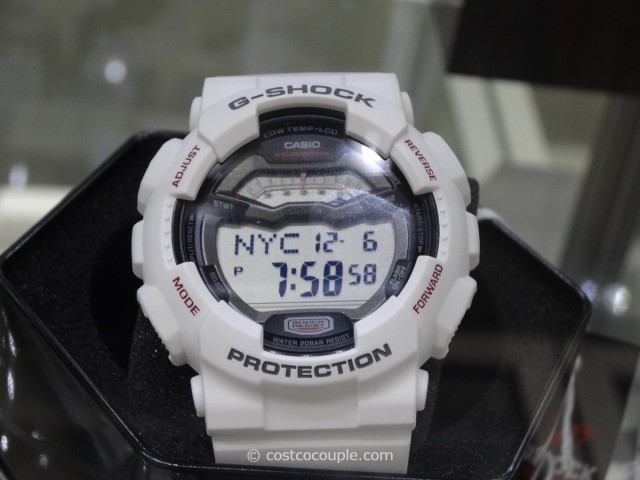 Casio G-Shock White Resin Costco 2