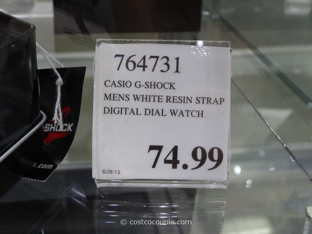 Casio G-Shock White Resin Costco 3