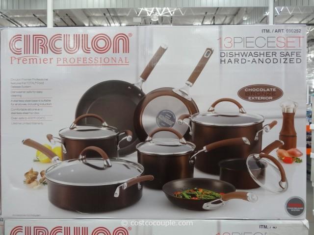 Circulon 13 Piece Hard Anodized Cookware Set Costco 3