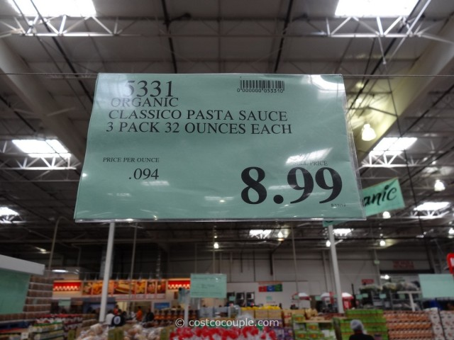Classico Organic Pasta Sauce Costco 3