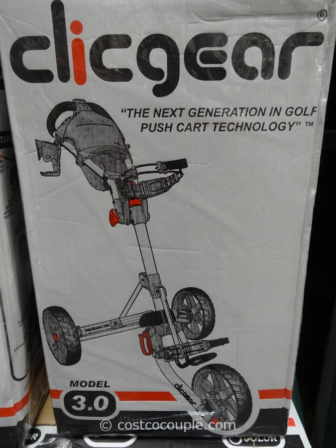 ClicGear Golf Push Cart Costco 1