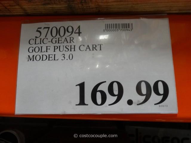 ClicGear Golf Push Cart Costco 5