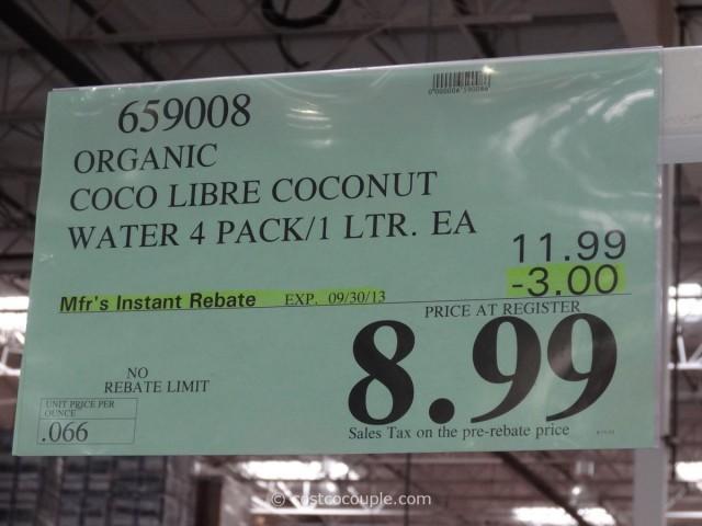 Coco Libre Organic Coconut Water Costco