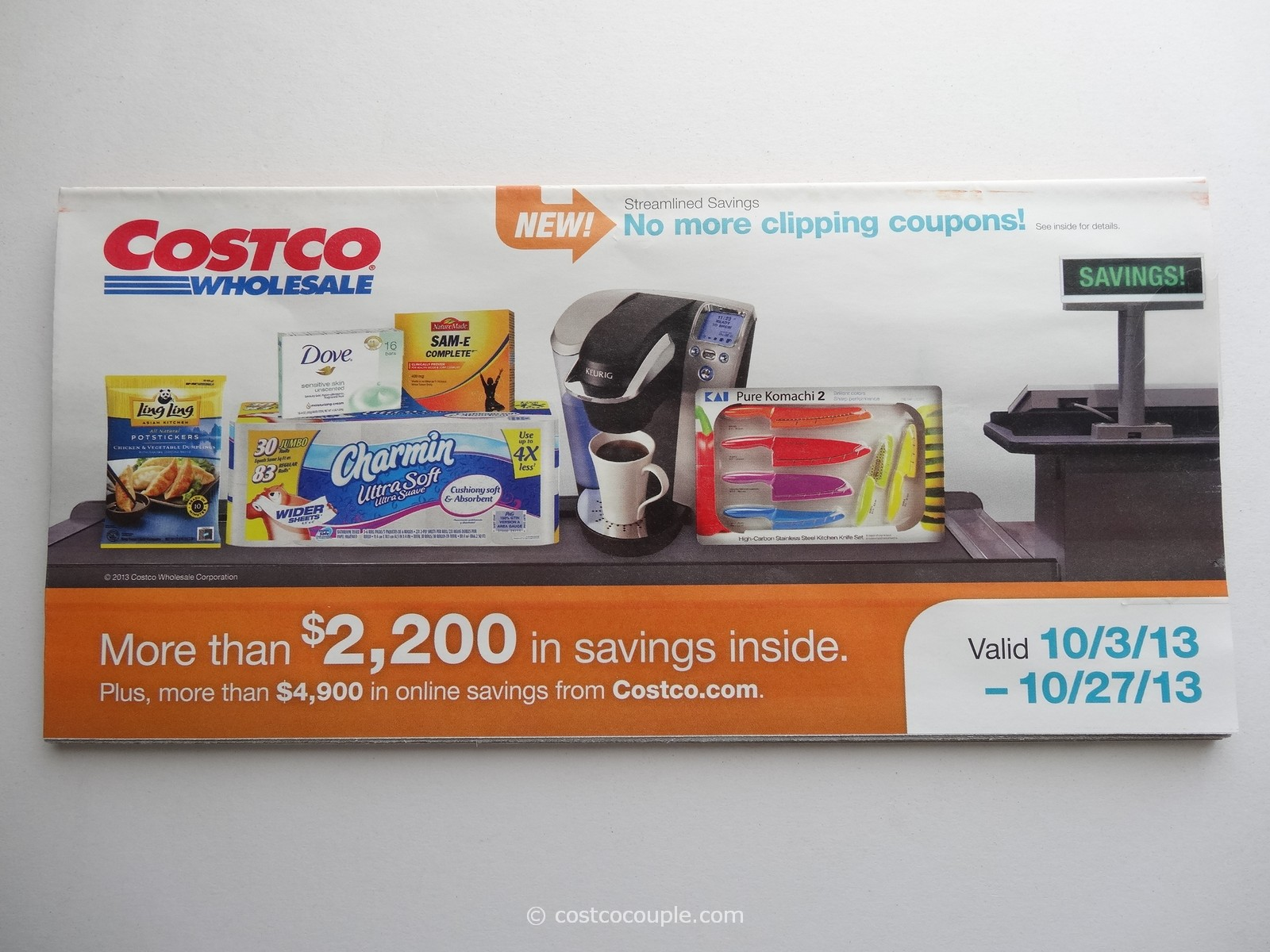 Costco October 2013 Coupon Book 1