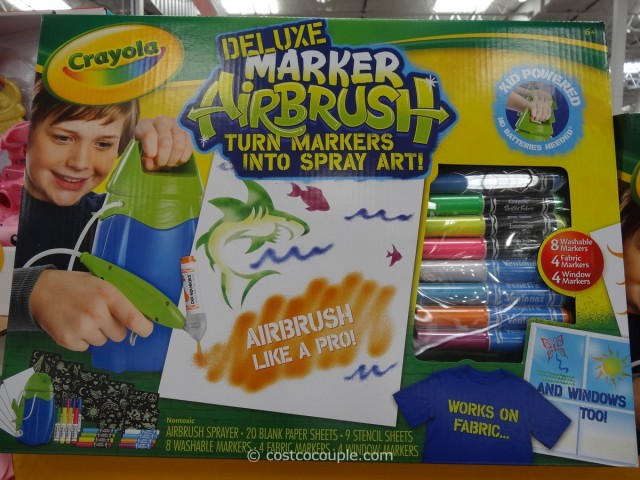 Crayola Deluxe Marker Airbrush Costco 1