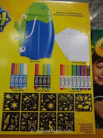 Crayola Deluxe Marker Airbrush Costco 5