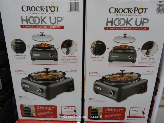 Crock-Pot Hook Up Set Costco 3