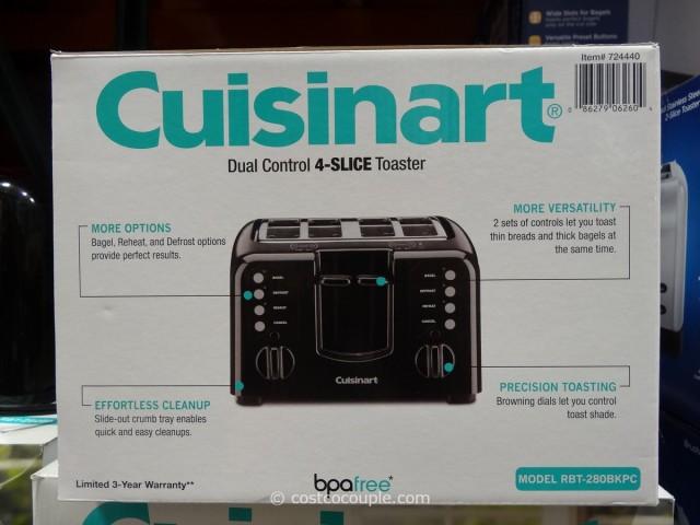 Cuisinart Dual Control Toaster
