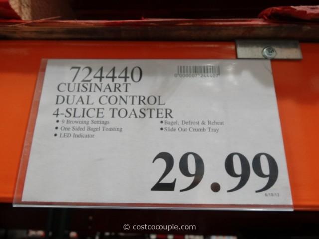 Cuisinart Dual Control Toaster Costco 4