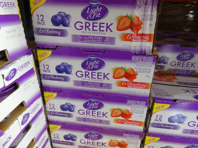 Dannon Greek Nonfat Yogurt Costco 1