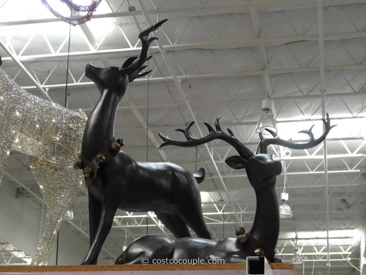 Decorative Reindeer Set Costco 1