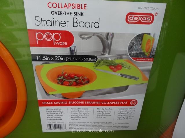 Dexas Collapsible Strainer Board Costco 3