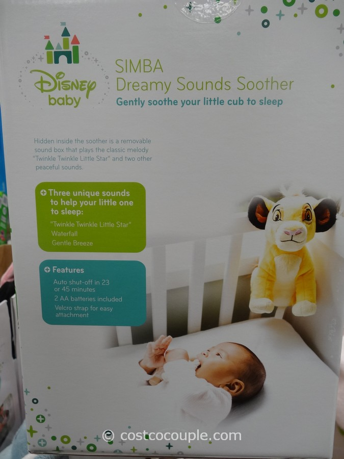 Cloud B Disney Baby Dreamy Sounds Soother