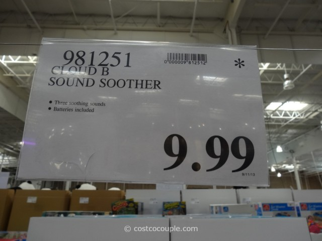 Disney Cloud B Dreamy Sounds Soother Costco 6