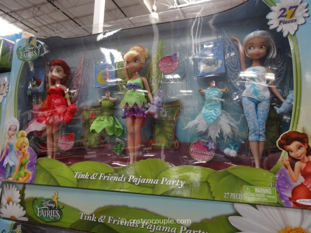 Disney Fairies Tink and Friends Pajama Party Costco 1