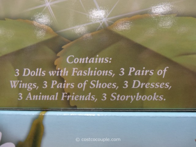 Disney Fairies Tink and Friends Pajama Party Costco 3