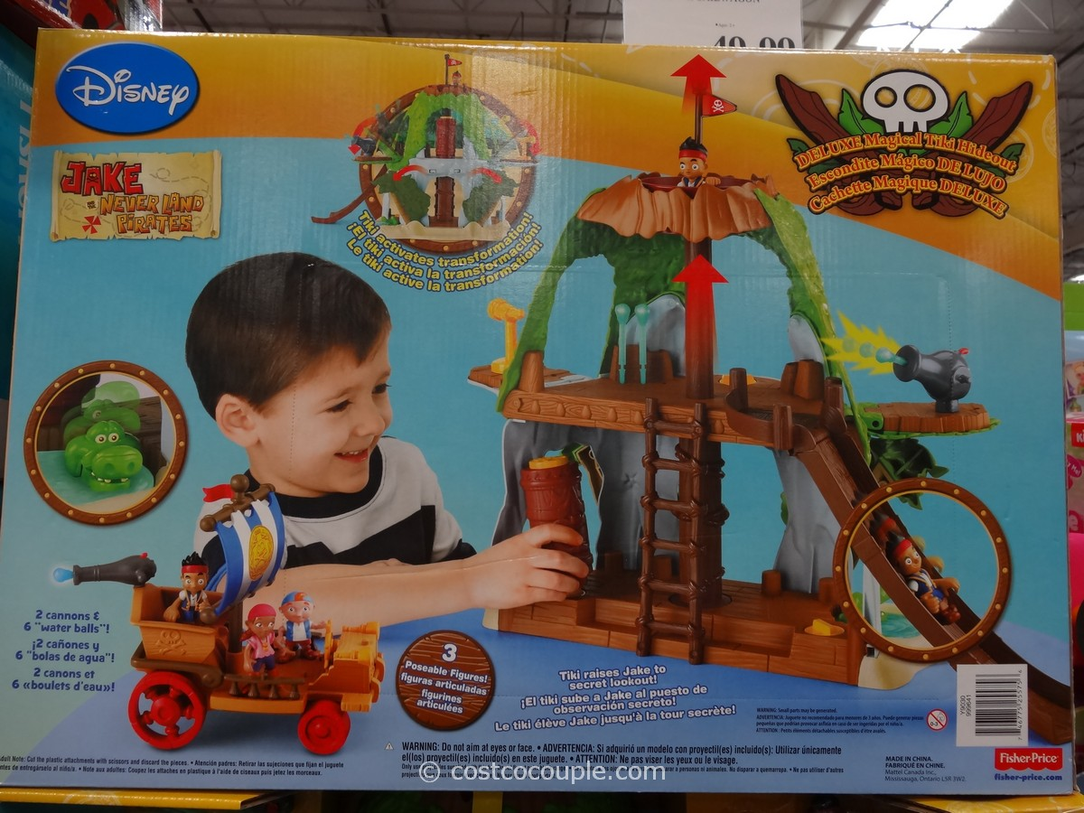 Disney Jake Deluxe Magical Tiki Hideout Costco 3