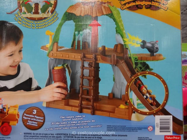 Disney Jake Deluxe Magical Tiki Hideout Costco 5