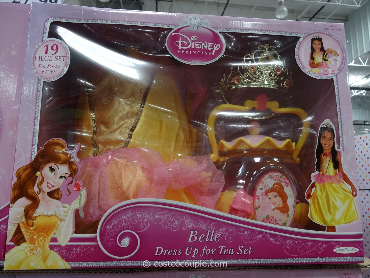 Disney Princess Dress Up For Tea Set Costco 3