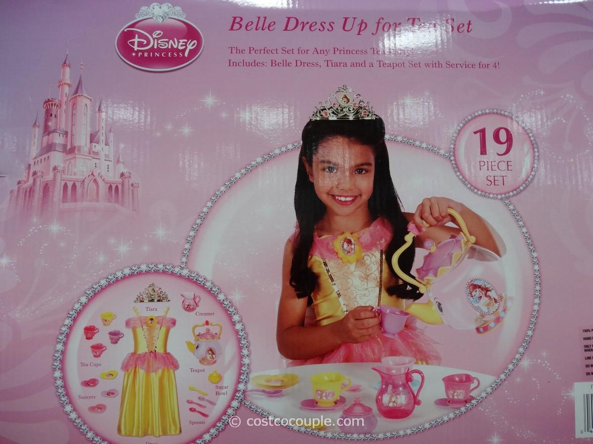 Disney Princess Dress Up For Tea Set