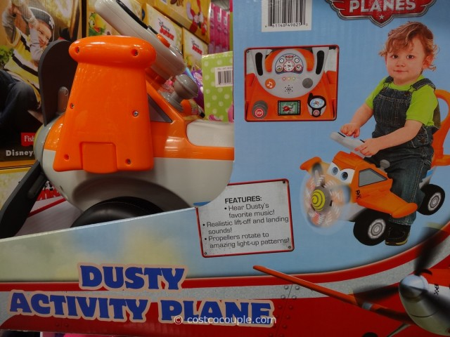 Disney Ride On Plane Costco 2