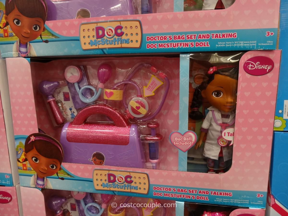 Doc McStuffins Doll and Medical Bag Set Costco 1