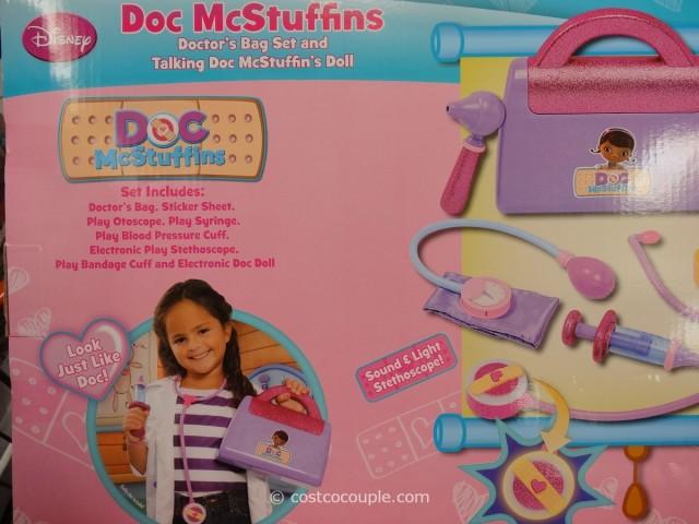 Doc McStuffins Doll and Medical Bag Set Costco 4